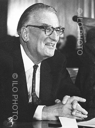 C. Wilfred Jenks (United Kingdom), Sixth Director-General of the ILO,1970-1973
