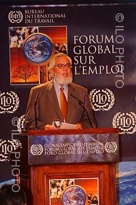 Speech of the Director-General of the ILO, Juan Somavia, at the Opening session of the Global Employment Forum. Geneva.