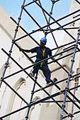 Construction: Reconstructing the facade of St.Joseph's Cathedral - Dar Es Salaam.
