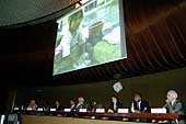 World Day Against Child Labour, 11 June 2004: 'Helping Hands or Shackled Lives', panel discussion on child domestic labour in the Palais des Nations, Geneva