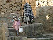 Child domestic worker. Yemen.