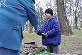 Child labour in Moldova.