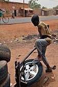 Young mechanics in Fana, Mali.