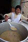Young cook. La Paz (Alto), Bolivia.