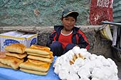 Young street seller. Potosí, Bolivia.