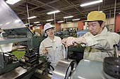 Machine processing section. Kyoto Vocational Training School. Kyoto, Japan.