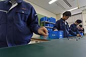 Career program for the developmentally-disabled. Kyoto Vocational Training School. Kyoto, Japan.