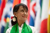 Visit of Ms Daw Aung San Suu Kyi, President of the National League for Democracy and Member of Parliament, Republic of the Union of Myanmar. 101st Session of the International Labour Conference. Geneva, 14 June 2012.