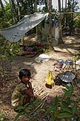 Homeless child. Region of Mawlamyaingyun. Report from Myanmar, May 2013.
