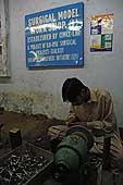 Model surgical instrument manufacturing workshop. ILO Field Project. Sialkot. Pakistan.