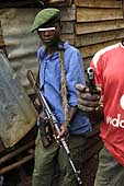 Child soldiers. Most of these children are illiterate but know how to fire a gun. Democratic Republic of the Congo.