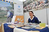 Member of the association AITR (Associazione Italiana di Turismo Responsabile). Non-profit-making association which aim is to promote the culture and practice of a more responsible tourism. Port of Genoa. Italy.