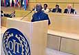 Speaker at the International Labour Conference