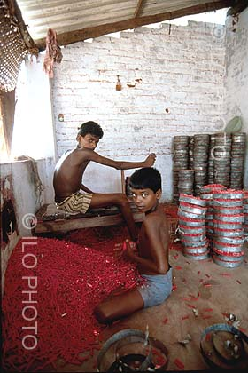 Firecrackers- child labour