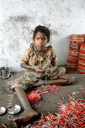 Firecrackers - Child Labour