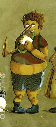 Pinocchio le glouton