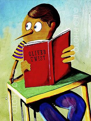 Pinocchio l'étudiant