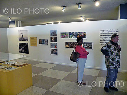 Exhibition commemorating the 90th Anniversary of the ILO at UN in New York