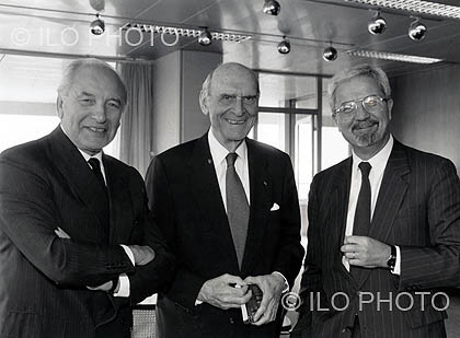 Tribute to Francis Blanchard, seventh Director-General of the ILO, from 1974 to 1989
