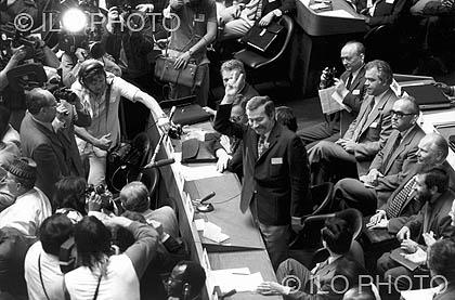 1948: 31a Reunión de la Conferencia Internacional del Trabajo <br> Libertad Sindical