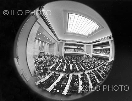 90 years working for social justice : A photographic history of the ILO