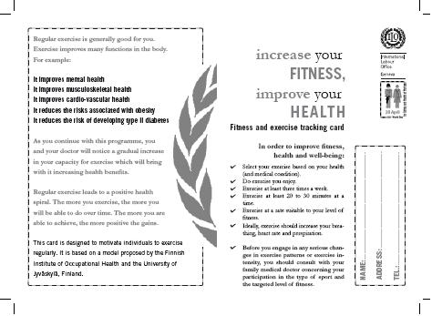 Fitness Card - Click on the image to enlarge