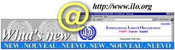 What's New: A list of hyperlinks to new documents and sites which have recently been put on-line for ease of reference