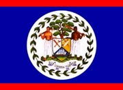 National flag of Belize