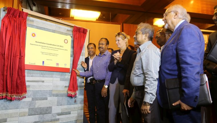 Remediation Coordination Cell for Bangladesh garment industry launched