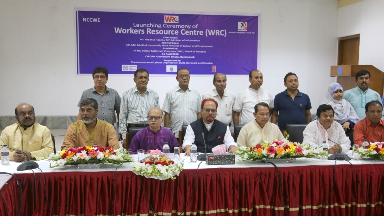Workers Resource Centre launched for Bangladesh garment sector