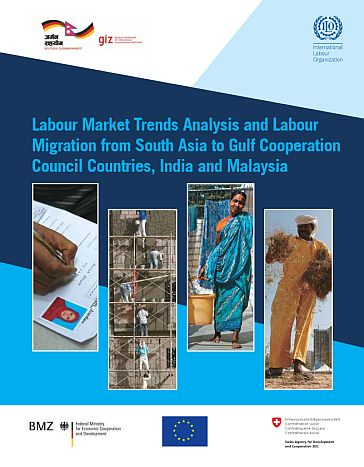 "labor market in gulf countries 2006-5-20  the segmentation of the labor market  labor and its impact in the gulf"",  constituted a majority of the labor force in all the gcc countries,."