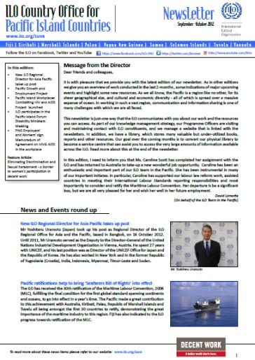 Newsletter Country Office For Pacific Island Countries
