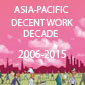 Asian Decent Work Decade logo