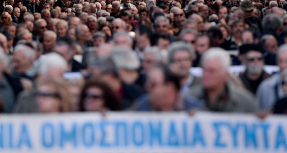 Greece needs to address risk of a prolonged social crisis