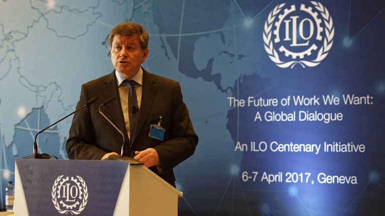 ILO says social dialogue key to shaping the future of work we want