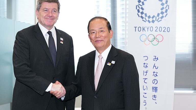 Tokyo 2020 and the ILO agree unique partnership to promote Decent Work