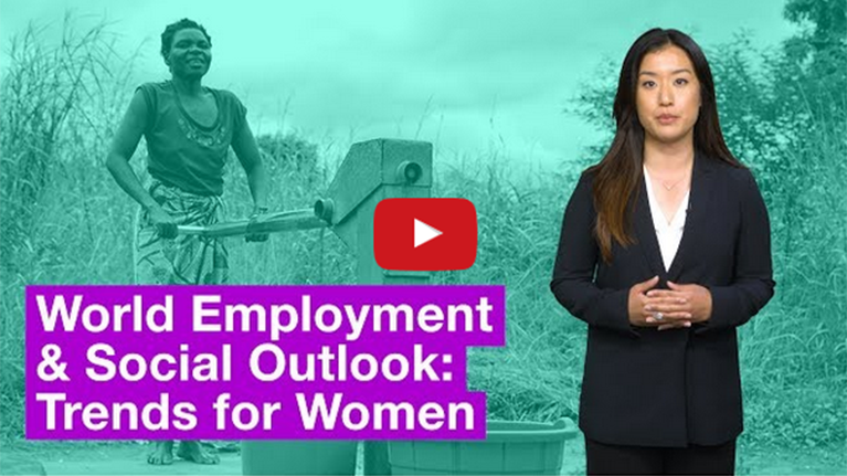 Vídeo: Tendencias del empleo femenino 2017 – Reseña del informe de la OIT