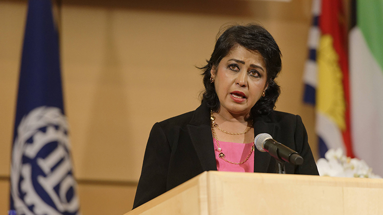 President Gurib-Fakim of Mauritius advocates better future for women at work