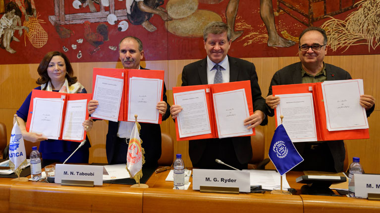 One more step towards decent work in Tunisia