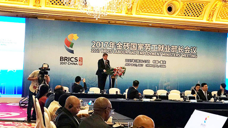 Guy Ryder: BRICS countries play a key role in tackling global world of work challenges