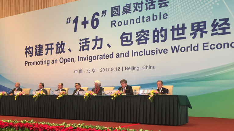 Promoting an open, invigorated and inclusive world economy