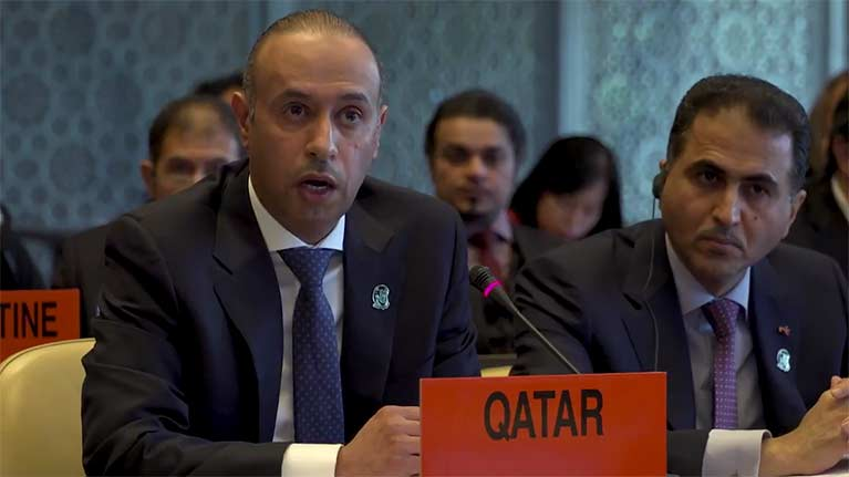 B-roll: ILO Governing Body welcomes Qatar's commitment to bolster migrant worker rights