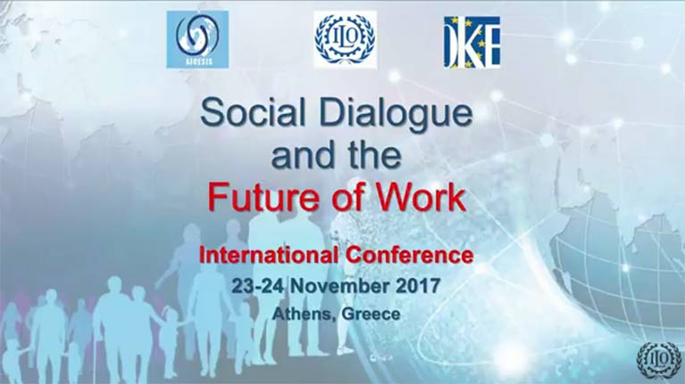 ILO-AICESIS-OKE International Conference on Social Dialogue and the Future of Work - Day 2