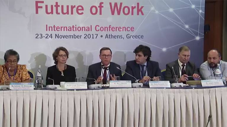 ILO-AICESIS-OKE International Conference on Social Dialogue and the Future of Work - Day 1