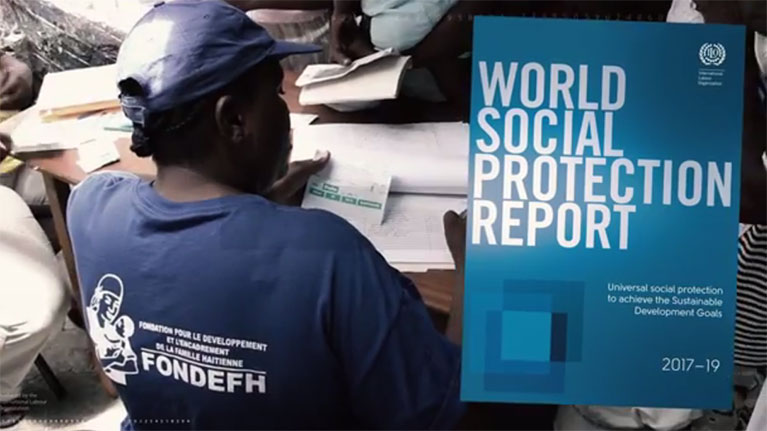 Video: Social protection is a human right but how many benefit?
