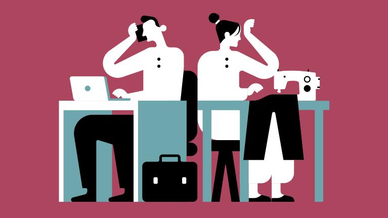 Resultado de imagen para Trabajo y empleo en la prestación de cuidados para el futuro del trabajo