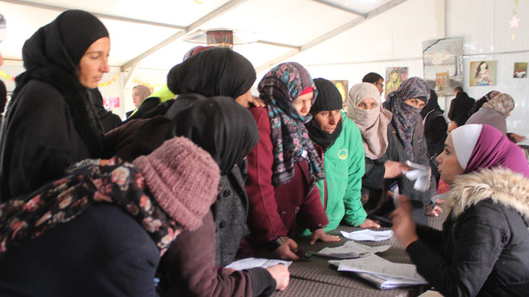 Job centre for Syrian refugees opens in Jordan camp