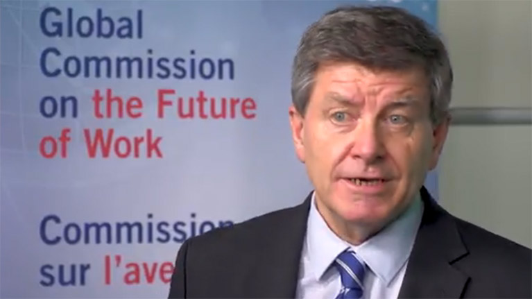 Video: An update on the Global Commission on the Future of Work