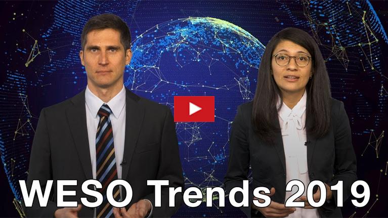 Las tendencias en el empleo mundial 2019