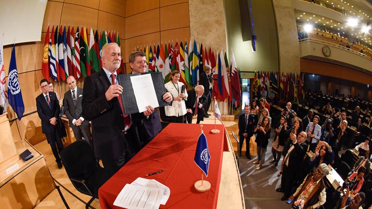 Resultado de imagen para La declaración del Centenario de la OIT
